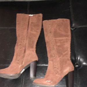 Shoes - Boots burnt orange to brownish